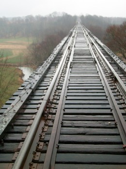 Tulip Trestle - after short walk from the road below