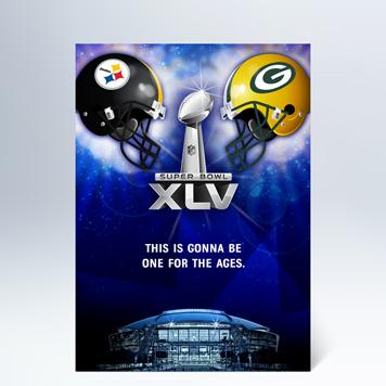 Super Bowl XLV Inivtations