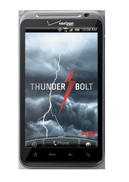 HTC THUNDERBOLT offered by VERIZON