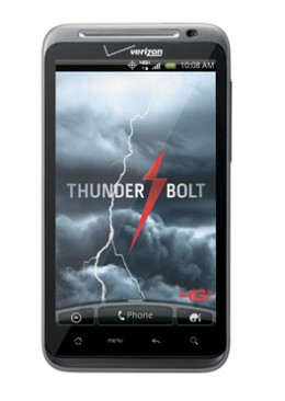 HTC THUNDERBOLT offered by VERIZON