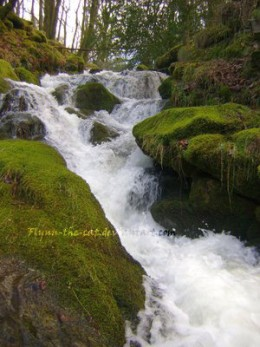 This photograph of a waterfall on Dartmoor is available as a stock image, and recieved a Daily Deviation