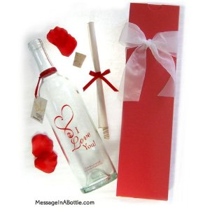 "Message in a Bottle  ""CUPID"" Personalized Gift"