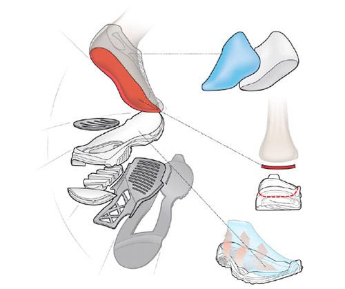 Zumba Dance Shoe Features