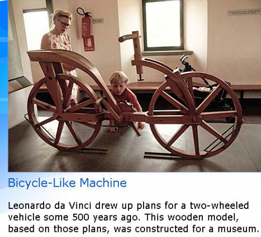 the first bicycle ?