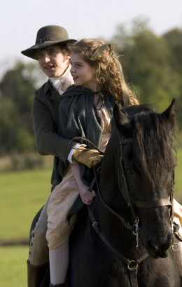 Edward takes Margaret out riding