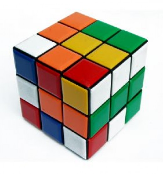Which is harder?  English or the Rubik's Cube?