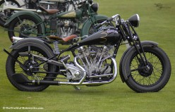 Beautiful American Classic Old Vintage Motorcycle Decorating