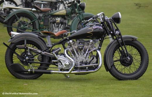 1934 Crocker 'Big Tank' 1200 Motorcycle