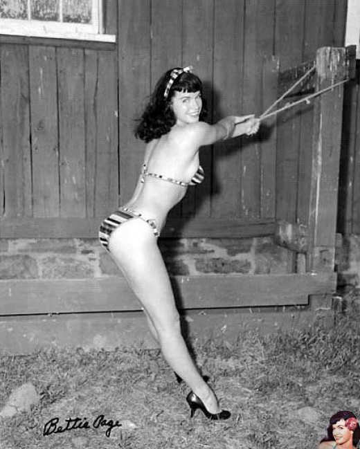 Betty Page Bondage 36