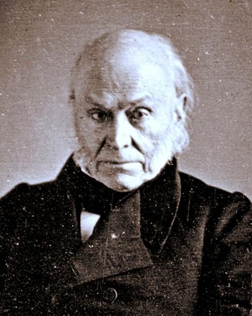 Former President (1825-29) and Congressman (1831-48) John Quincy Adams
