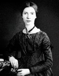 Famous portrait of Emily Dickinson