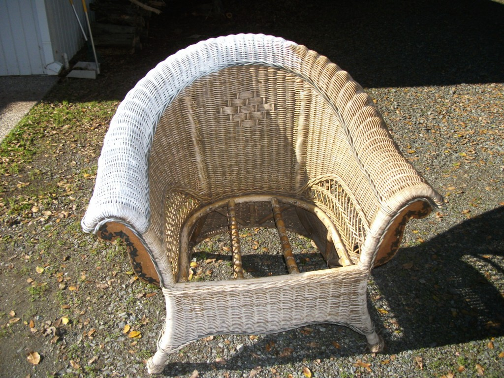 How To Refinish Wicker Furniture