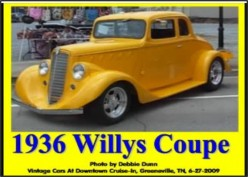 Ask DJ Lyons: 1936 Willys Coupe