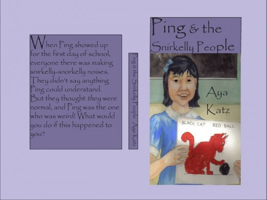 The cover of Ping & the Snirkelly People