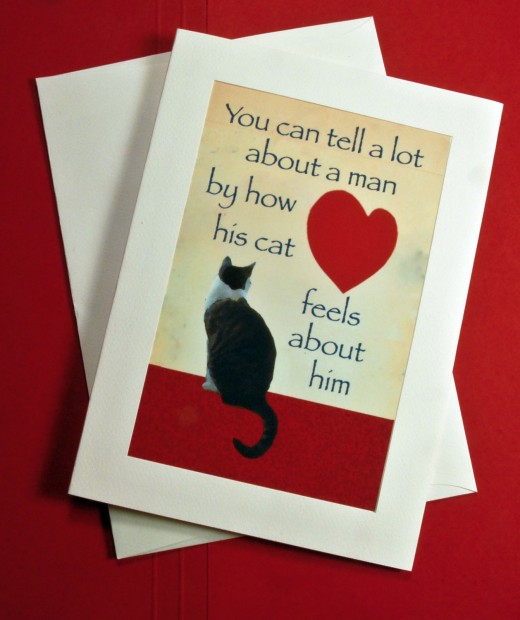 Deborah's surprising, most popular cards makes a play on the well-known cat scan that is a prerequisite for friendship.