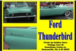Ask DJ Lyons: Ford Thunderbird Convertible