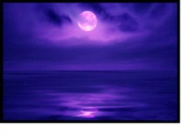 The moon's reflection in the sea creates the magical beauty of positive natural act!