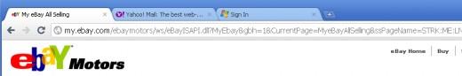 Chrome (before tab move)