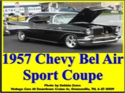 Ask DJ Lyons: 1957 Chevy Bel Air Sport Coupe