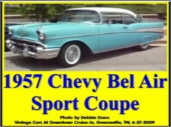 Ask DJ Lyons: 1957 Chevy Bel Air Sport Coupe in Light Blue