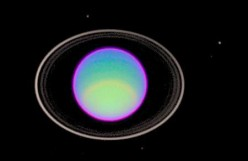Does this look like a false color view of Uranus?