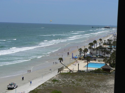 A beautiful beach picture in Daytona Beach, Florida.