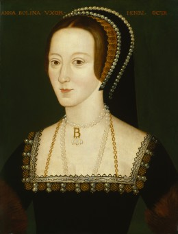 Henry VIII's passion for Anne Boleyn led to trouble in the country.