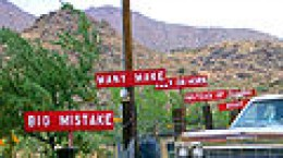 Burma shave signs on route 66