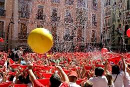 Beginning of The San Fermin Festival