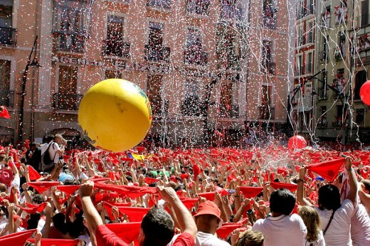 Beginning of The San Fermin Festival