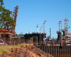 British Chivalry - iron ore to China