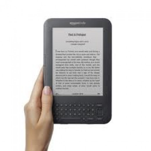 Kindle 3g on Hubpages the perfect gift for the man who reads.