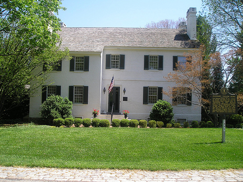 Taylor's family home, Springfield, a private residence.