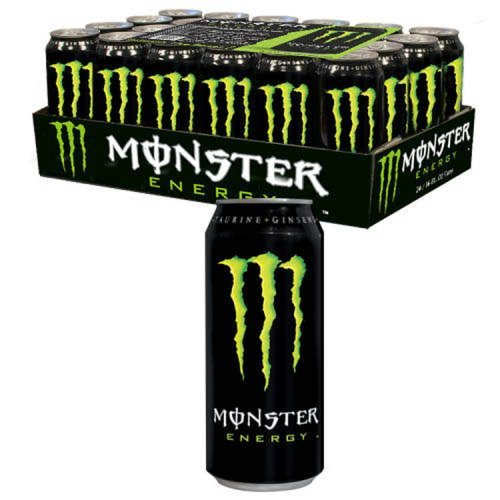 Monster Energy Drink, 16-Ounce Cans (Pack of 24)