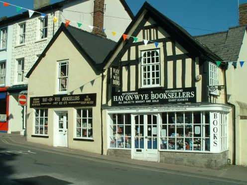 Hay-on-Wye is Wales's town of bookstores
