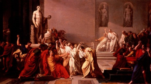 "Camuccini's ""Ides of March"""