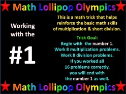 Ask DJ Lyons: Math Challenge for numbers 2 to 9