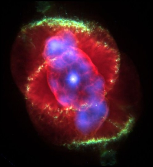 The Cat's Eye Nebula.