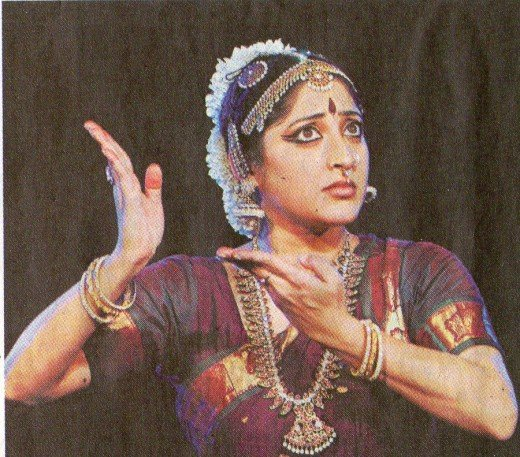 Expressing Fear (Bhaya).The famous Indian dancer LAkshmi Gopalan