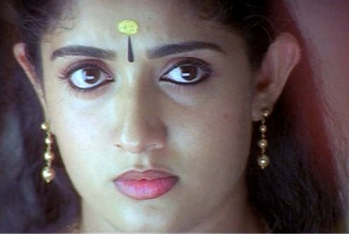 Feeling of fear 9Bhaya) expressed by Kavya Madhavan