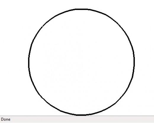 Drawing Circles in Javascript Circle