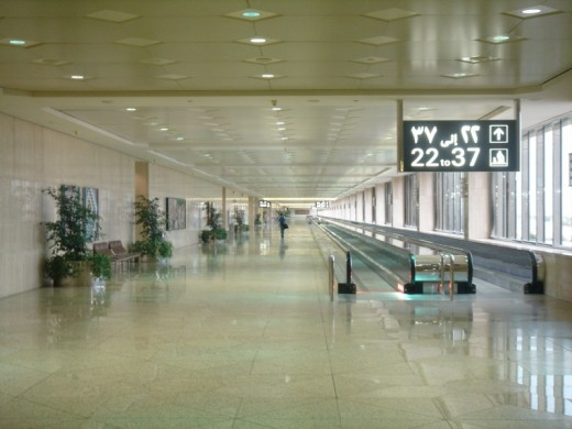 King Fahd International Airport, Saudi Arabia - the Worlds biggest airport - and the worlds largest airport.image credit, moaksey, Wikipedia commons http://en.wikipedia.org/wiki/File:Dammam_Airport.jpg