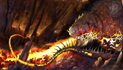 Cave Dragon, produced on the Aiptek PC Graphics tabletin Photoshop CS2, Click the link below to see an insight into how I did it.