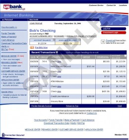 My US Bank Onlin...U.s. Bank Access Online Credit Card
