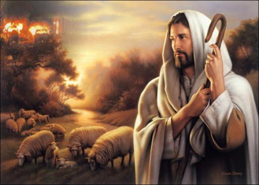 Jesus Christ the Good Shepard