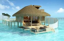 THE BEACH HOUSE        MALDIVES