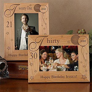 Personalized Birthday Frames
