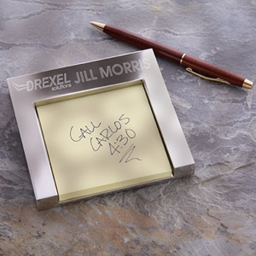 Personalized Post-It Note Holder