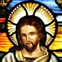 Christ Stained Glass - St. John's Church - Ashfield