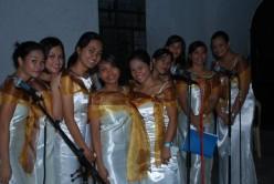 during wedding service